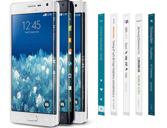 Samsung Galaxy Note 4, Galaxy Note Edge