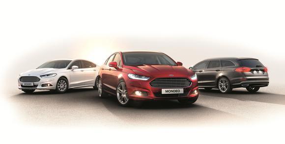 Ford Mondeo Range Europe