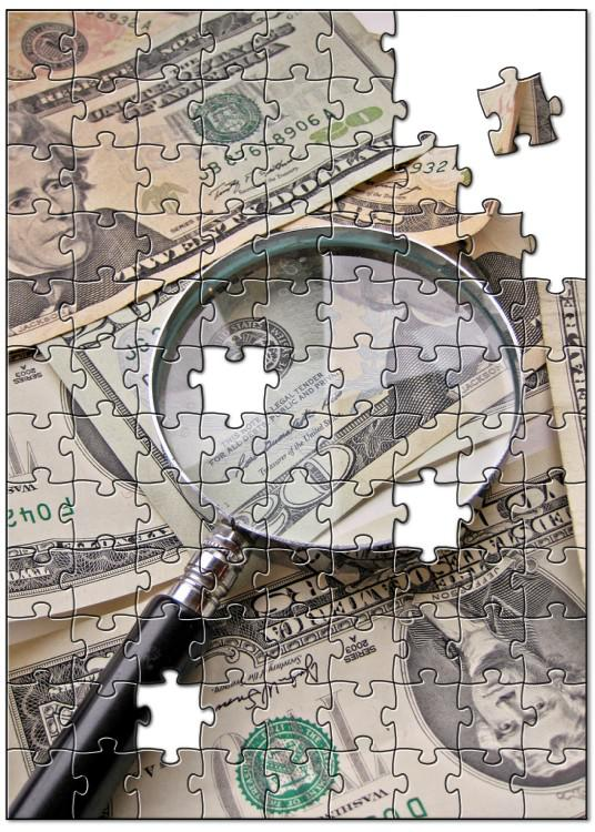 Dollars Jigsaw Puzzle Images Money Flickr
