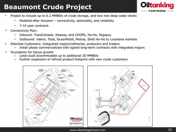 Oiltanking Partners Lp Oil Exports