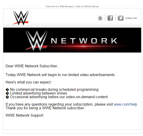 Wwe Email