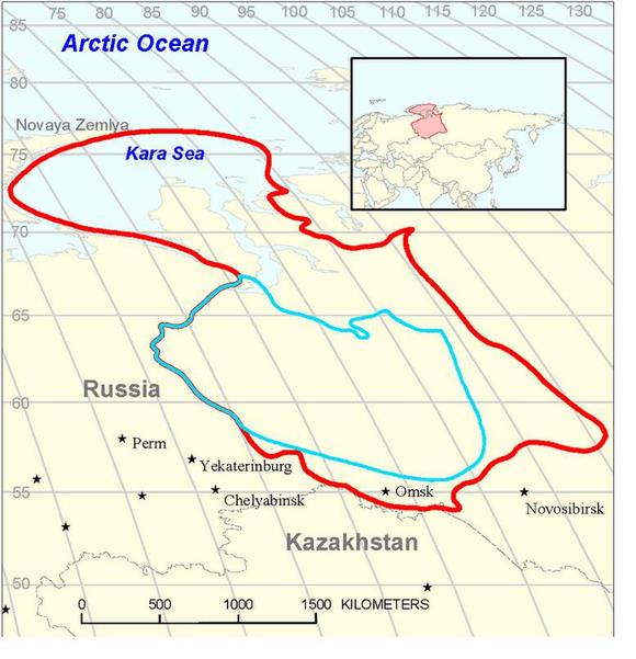 Bazehnov Shale Oil Resevoir