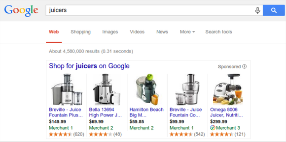 Google Shopping Ratings