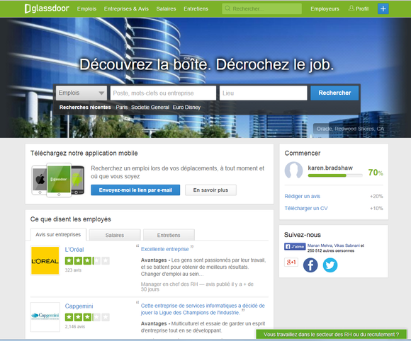 Glassdoor Fr Homepage