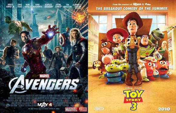 Avengers And Toy Story