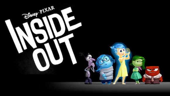 Inside Out Disny Pixar Poster Horizontal