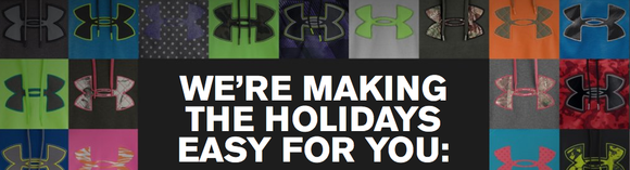 Under Armour Holiday Screen Shot