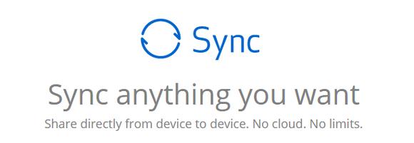 Bittorent Sync