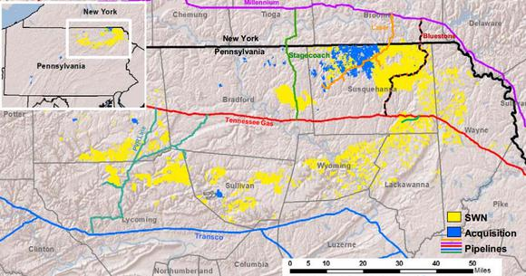 Natural Gas Stocks Southwestern Energy Company Marcellus Shale