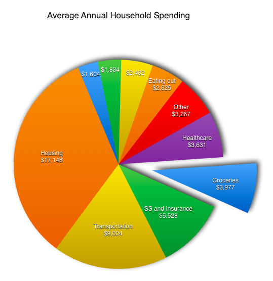The Average American Spends This Much on Groceries: How do You ...