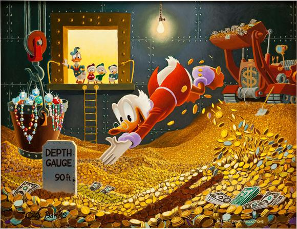 Sport Of Tycoons Carl Barks