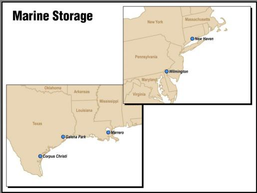 Magellan Midstream Oil Storage Assets