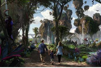Disney Avatar Attraction Rendering