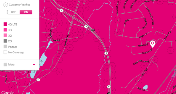 Will This Move Send Customers Flocking To TMobile US Inc - T mobile coverage map us