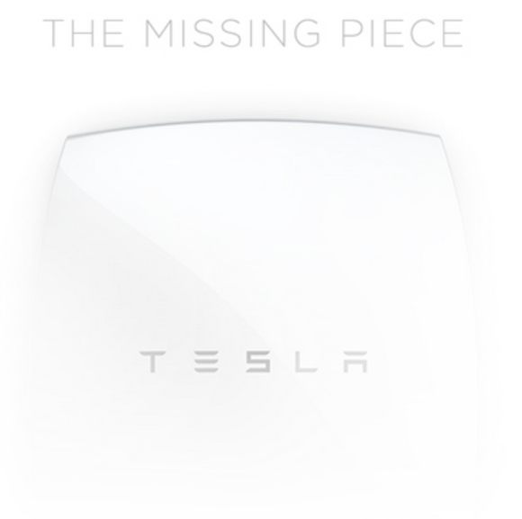 Tesla Home Battery Event Invite