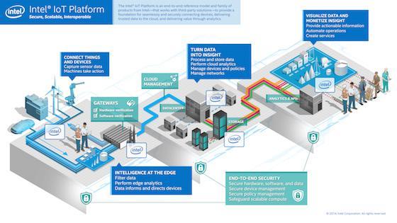 Iot Platform Infographic
