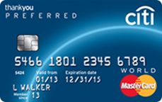 Citi Thankyou Preferred Credit Cards For College Students