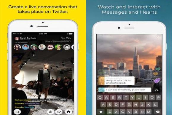Meerkat And Periscope Side By Side