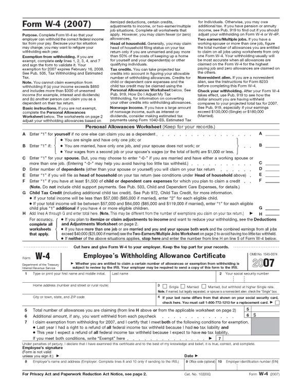 How Many Allowances Should I Claim on My W4 The Motley Fool – W4 Deductions and Adjustments Worksheet