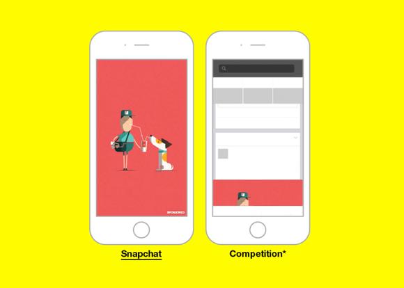 Snapchat V Competition