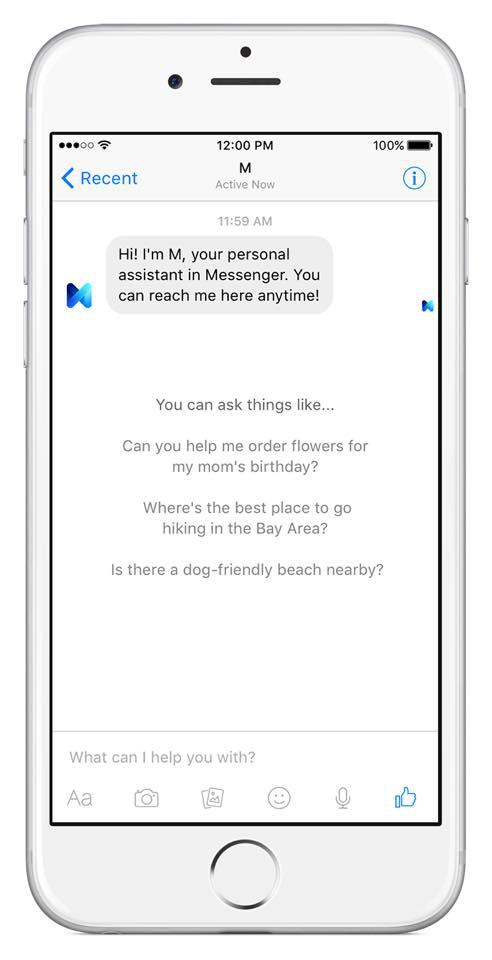 M Fb Personal Assistant