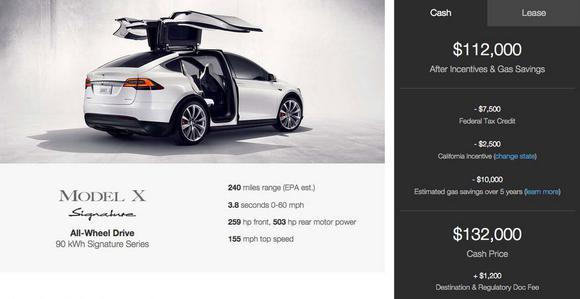 Modelx Tesla