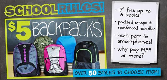 Five Backpack