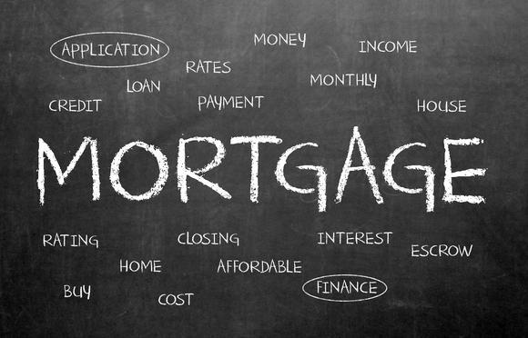Mortgage Chalkboard