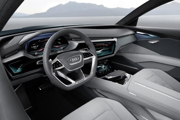 Audi Etron Quattro Concept Interior