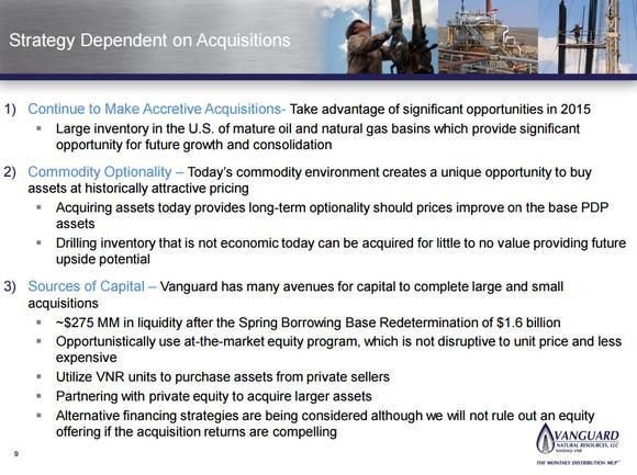 Vangual Natural Resources Llc Acquisitions