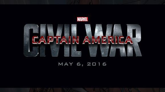 Captain America Civil War Logo Dis