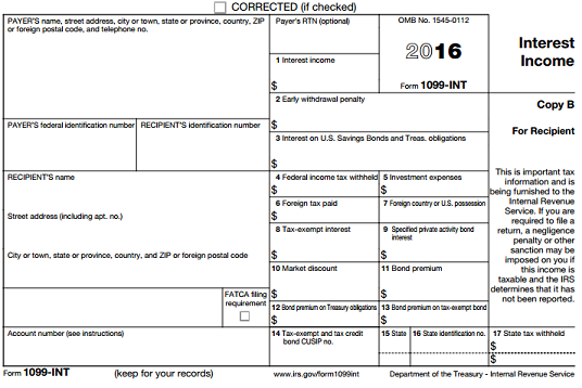 New Form 1099 Us