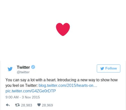Twitter Hearts