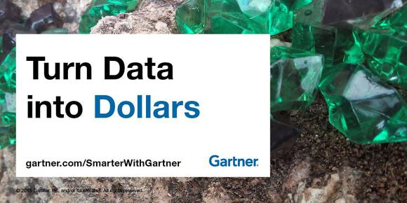 It Data Into Dollars Gartner
