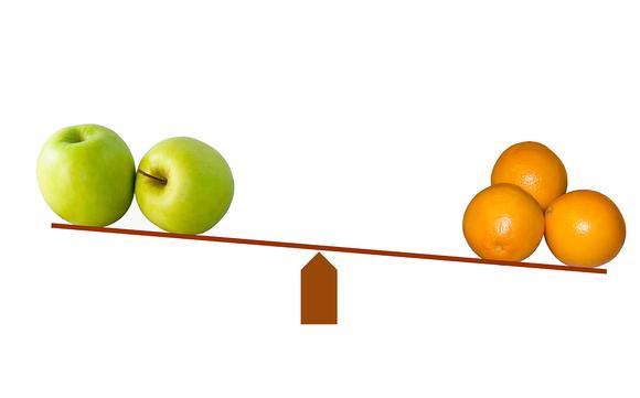 Apples Oranges Pixabay