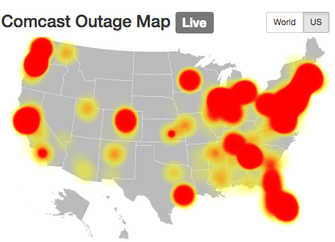 Comcast Outage Comes at a Terrible Time    The Motley Fool