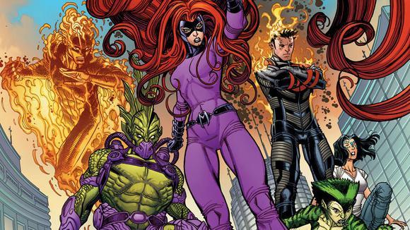 Uncanny Inhumans Dis Marvel Comics