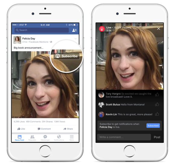 Facebook's News Feed Algorithm Now Gives Preference to Live Video