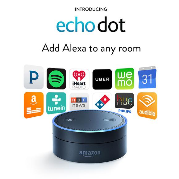Amazon Expands Echo with Tap and Dot IoT Products