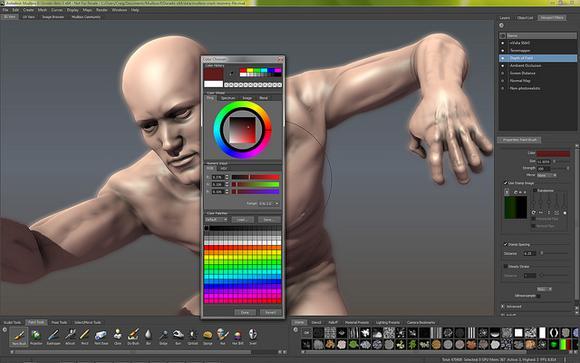 Autodesk Mudbox By Creative Tools Via Flickr