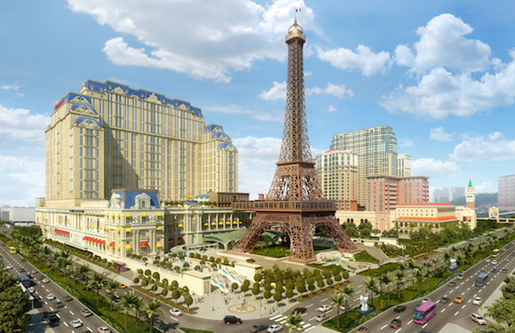 Las Vegas Sands The Parisian Rendering
