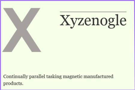 Xyzenogle