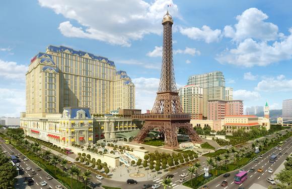 Las Vegas Sands The Parisian Rendering