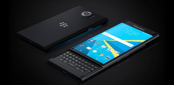 Priv By Blackberry Angled Keyboard