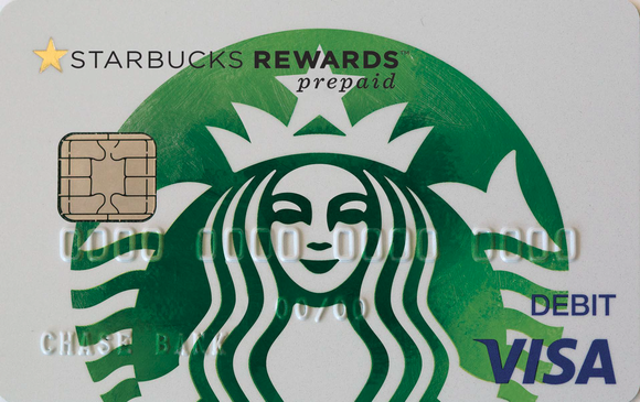 Sbux Rewards Prepaid Visa