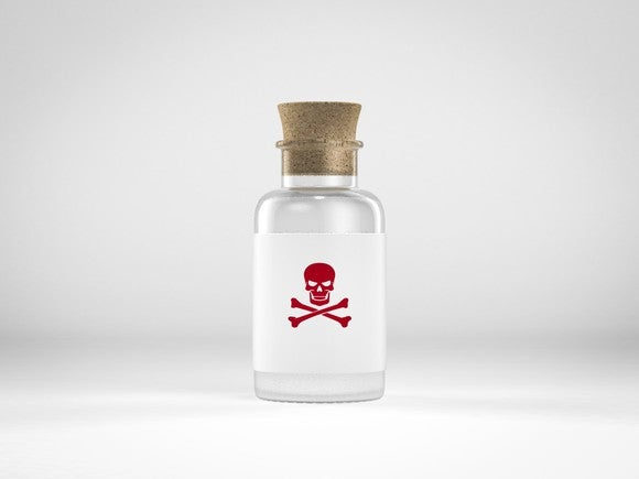 Poison Avoid Skull Crossbones Getty