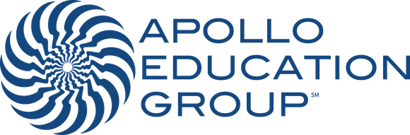 Apollo Logo Horizontal Blue