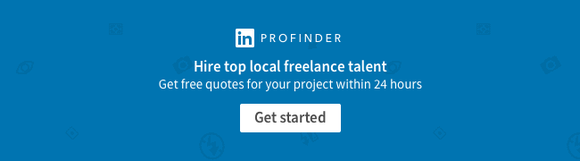 Linkedin Profinder Banner