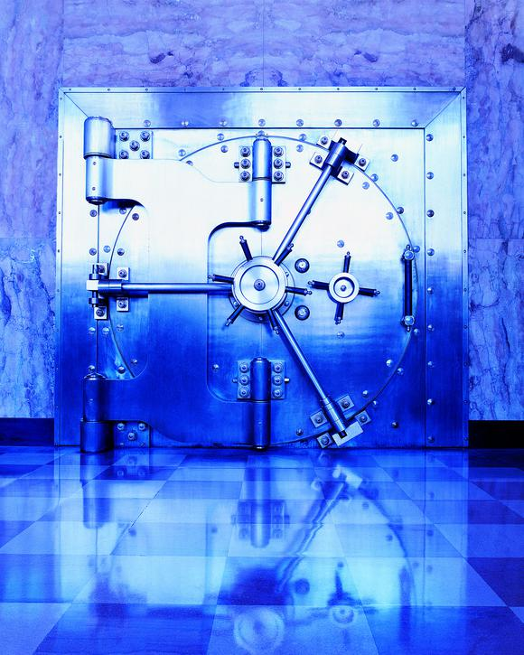 Security Vault Door