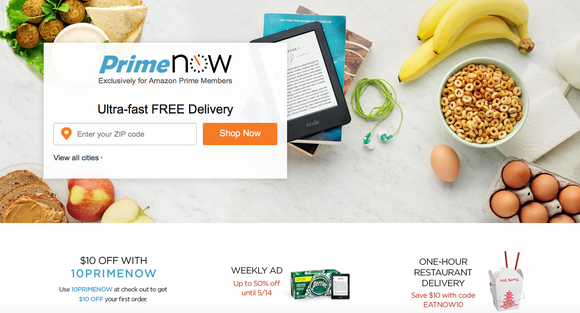 Amazon Primenowcom Webpage